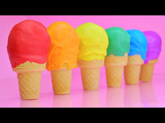 Ice-cream-cone-rainbow-cake