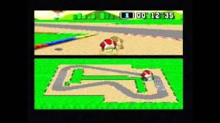 "Super Mario Kart Time Trial PAL Mario Circuit 1 World Record 0'57""90* by Sami Cetin"