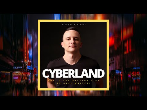 🤖CYBERLAND VOL.1 ABLETON LIVE TEMPLATE CYBERPUNK STYLE🤖
