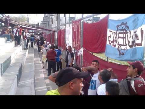"""""""LA BARRA 14 DE LANUS EN SAN JUAN....2013"""" Barra: La Barra 14 • Club: Lanús"""