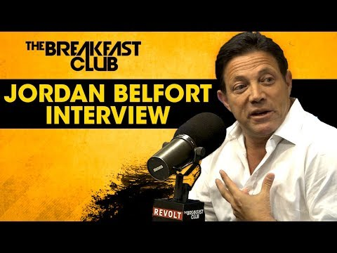 Jordan Belfort Talks The Art Of Sales, Quaaludes & More