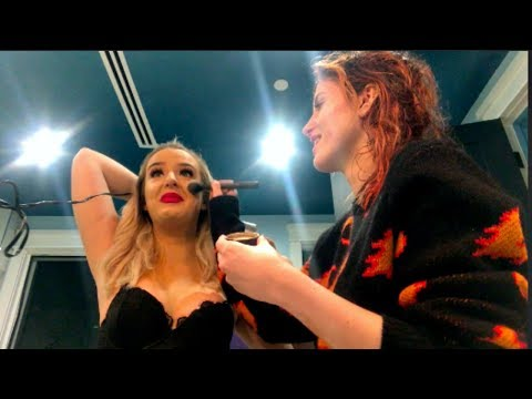 MY CUTE GIRLFRIEND DOES MY MAKEUP w/ Bella Thorne