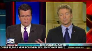 Rand Paul on Donald Trump Being Blackmailed, Obamacare and Rex Tillerson