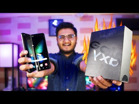 Samsung Galaxy Fold Unboxing | Dada Ji Hain Ye :P