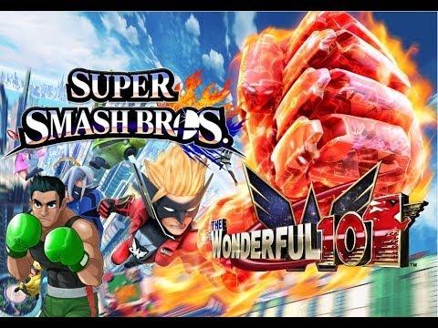 Wonderful 101 in Super Smash Bros Wii U/3DS? - Little Mac Reveal Trailer Analysis