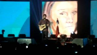 Ed Sheeran @ Lyon - Afire Love / West Coast of Clare / The Parting Glass