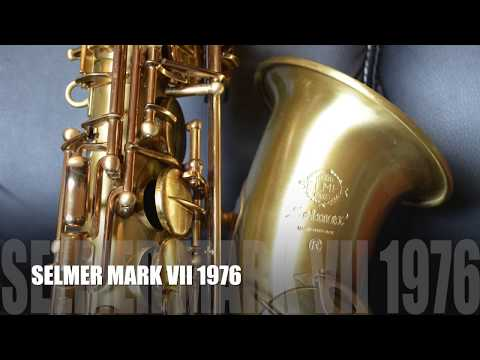 SAX TEST - Selmer Mark VI, Mark VII and Yamaha Yas 32. Sax Comparison