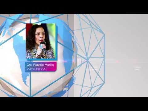 Compañera Rosario: Nuestra Nicaragua es una Patria de Fe y una Patria Alegre