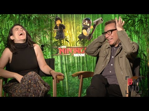 Fred Armisen & Abbi Jacobson Interview - The LEGO Ninjago Movie