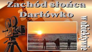 Zachód słońca - Darłówko