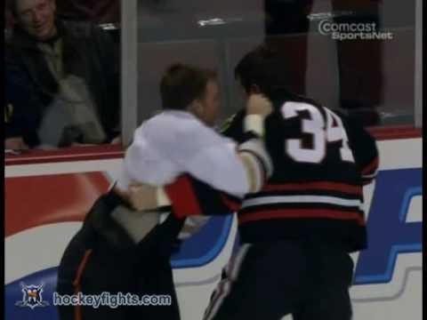 Reed Low vs. Shawn Thornton