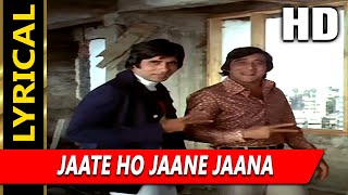 Jaate Ho Jaane Jaana With Lyrics | Asha Bhosle   - YouTube