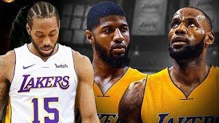 LeBron James, PG13 AND Kawhi Leonard Will ALL PLAY For THE LAKERS According to MULTIPLE Sources