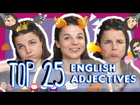 Top 25 Must-Know English Adjectives
