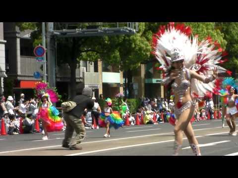 2011神戸まつり Escola De Samba 1 メインパレード