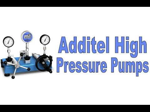 Additel High Pressure Hydraulic Pumps