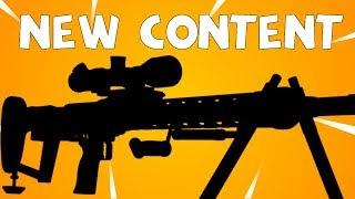 NEW Roadmap! 4.3 & 4.4 Fortnite Updates! New Sniper, Constructor & More!