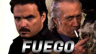 """""""Fuego""""-  Meksykański więzień ucieka przez dżungle Chiapas krzyżując ścieżki z tajnym agentem…."""