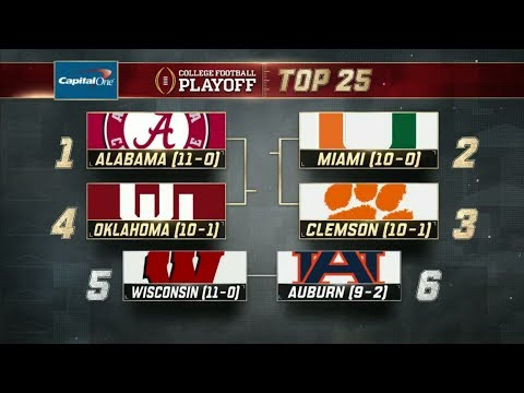 Miami moves to No. 2 ahead of Clemson in the College Football Playoff rankings | ESPN