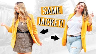 Styling The Same Clothes Into Different Outfits w/ Carrie Dayton!