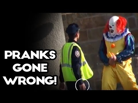 Best Clown Hidden Camera Practical Joke  2017