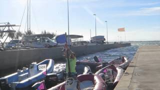 preview picture of video 'Laser Europa Cup Spain 2014 - Roses Day 1'