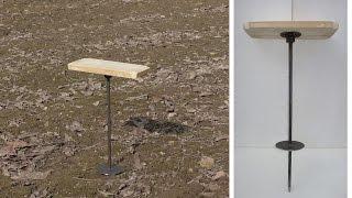 Одноногий стульчик раскладушка для охоты и рыбалки в челябинске