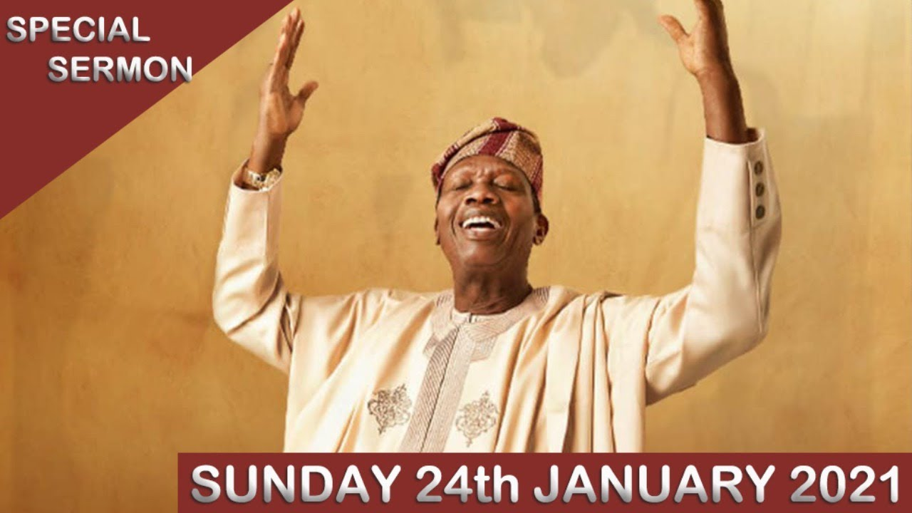 RCCG Live Sunday Service 24th January 2021 with Pastor E.A Adeboye