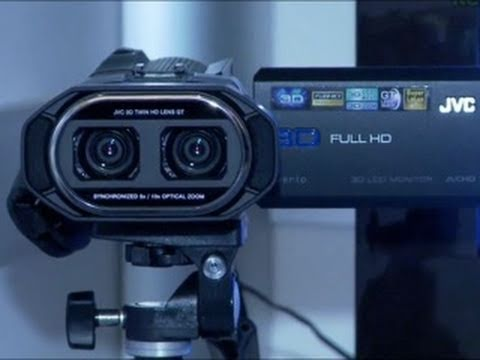 The BEST 3D Camcorder - JVC GS-TD1 Full HD 3D Camcorder - CES 2011