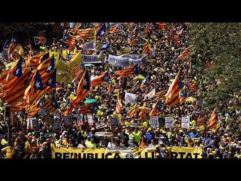 Μαζικές κινητοποιήσεις στη Βαρκελώνη