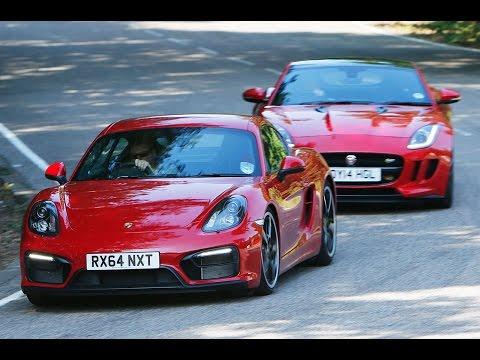 Jaguar F-type coupé versus Porsche Cayman GTS : Carbay