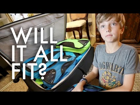 PACKING OUR HUGE FAMILY FOR EUROPE : Travel Full-time w/9 kids