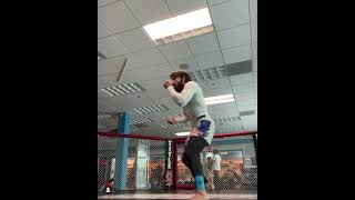 Mike Perry Shows Off his FAST Shadow Boxing Skills