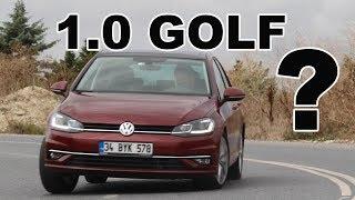VW Golf 1.0 test sürüşü | 1 lt Motor Yeterli mi?