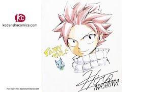 Watch Hiro Mashima draw Fairy Tail (Long Version)