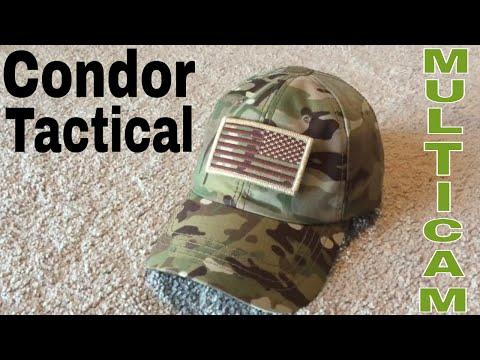 Condor tactical ball cap in multicam
