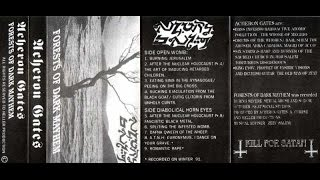 "ACHERON GATES - 1993 ""Forests of Dark Mayhem"" ISRAEL (FULL DEMO TAPE) METALLICOSICK"