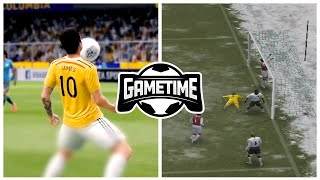 Recreating Goals on FIFA | Throwback to PES 6 | FUT Tips | GameTime Episode 8