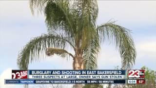 Burglary in east Bakersfield