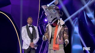 The Rhino is UNMASKED on the Masked Singer Who is it