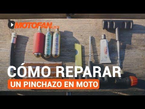 Vídeos de 'Cómo reparar un pinchazo en moto'
