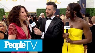 Sandra Oh Gets Emotional Discussing Her Historic Emmy Nomination   Emmys 2018   PeopleTV