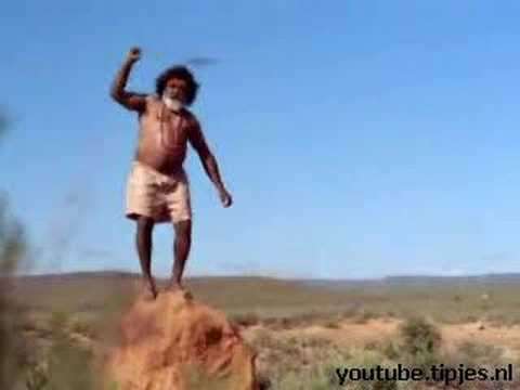 Humor video E-cards, Funny Aboriginal but he sure  funny humor
