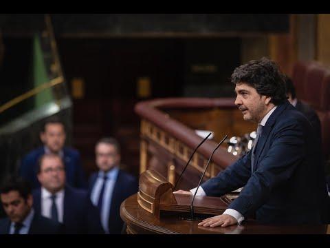Intervención de Mario Garcés en el Congreso de los Diputados