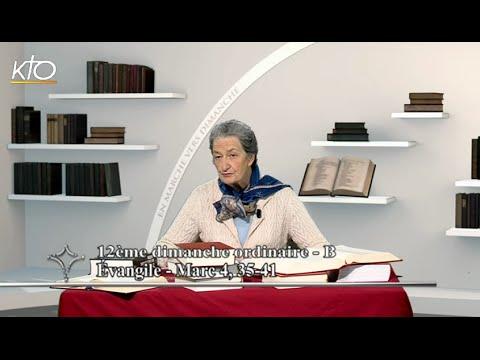 12e dimanche ordinaire B - Évangile