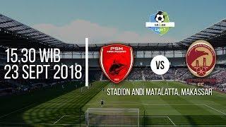 Jadwal Laga Pertandingan PSM Makassar Vs Sriwijaya FC di Vidio.com, Pukul 15.30 WIB