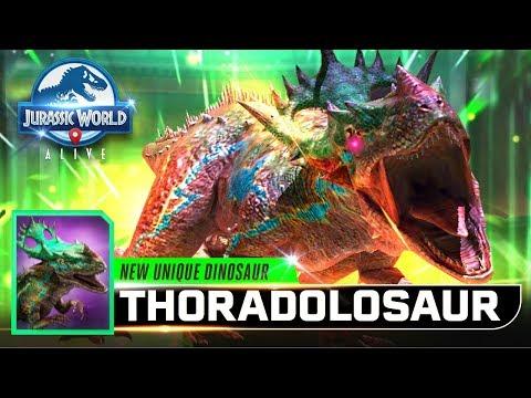 INDORAPTOR UNIQUE UNLOCKED! 【Jurassic World Alive 侏羅紀