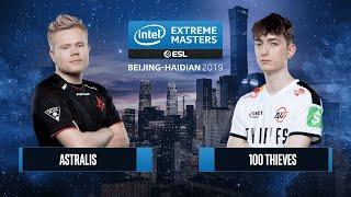 CS:GO - 100 Thieves vs. Astralis [Train] Map 3 - Grand Final - IEM Beijing-Haidian 2019