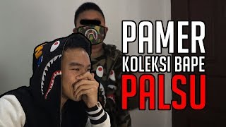Video REACTION BOCAH PAMER KOLEKSI BAPE PALSU NGAKU ORI | #HuntingFake MP3, 3GP, MP4, WEBM, AVI, FLV September 2019