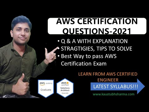 AWS CERTIFICATION QUESTIONS & ANSWER 2021|AWS ...